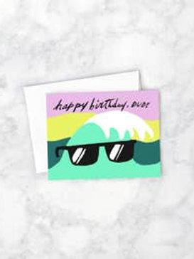 Birthday Wave Card by Idlewild