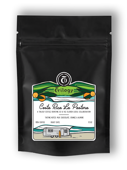 Costa Rica La Pastora TFL collaboration with Trilogy Coffee