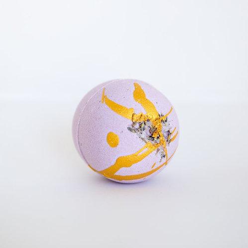Lavender Vanilla Bath Bomb by Naked Bar Soap Co.