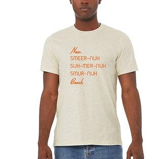New Smyrna Beach Vernacular Unisex Oatmeal T-Shirt