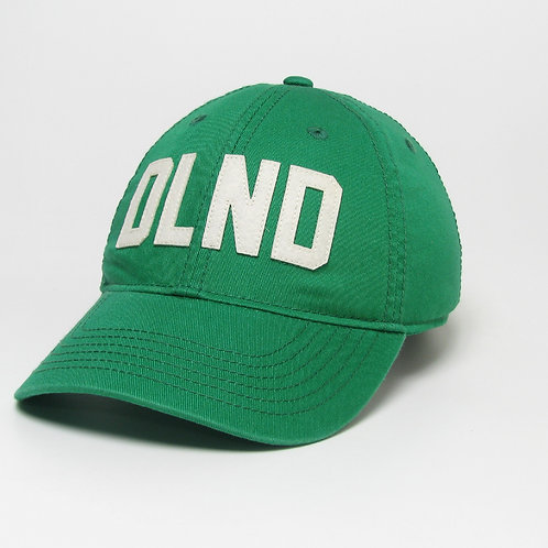 Green DeLand Stitched Felt Classic Hat