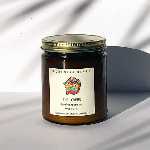 The Lovers Intention Candle by Bohemian Reves