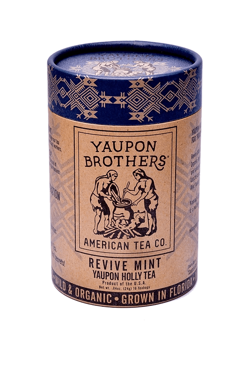 Revive Mint Yaupon Tea by Yaupon Brothers