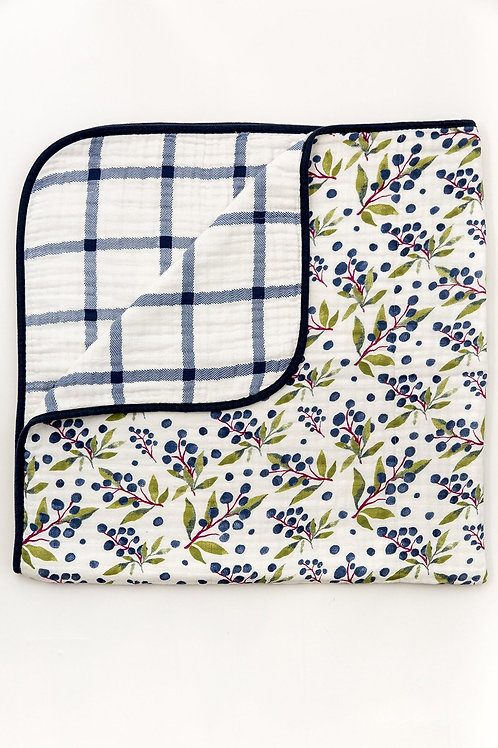 Huckleberry Reversible Quilt by Clementine Kids