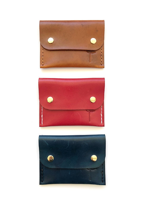 The Florida Local Leather Snap Wallet