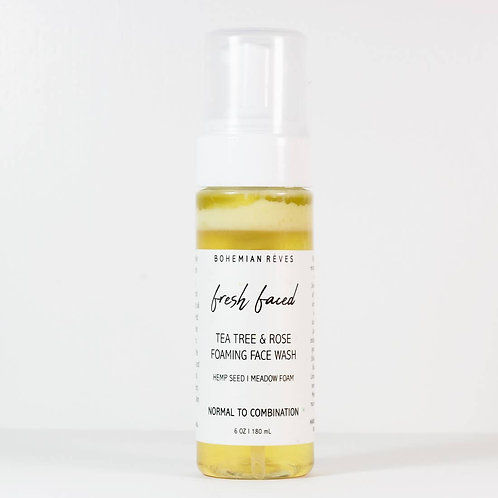 Fresh Faced Foaming Face Wash by Bohemian Reves
