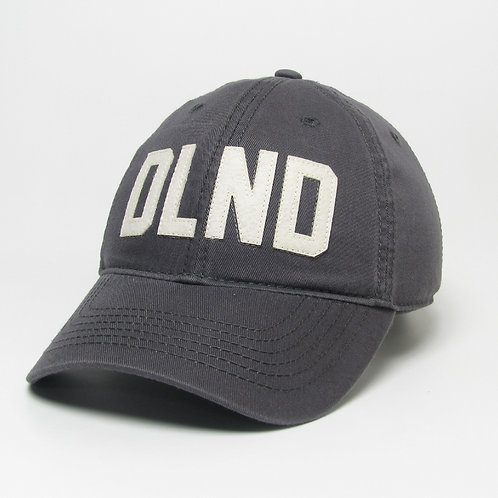 Dark Gray DeLand Stitched Felt Classic Hat