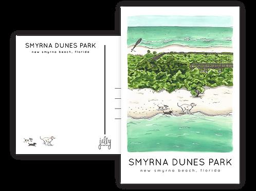 Smyrna Dunes Park Postcard by Jelly Press