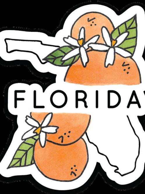 Florida State Sticker by Jelly Press