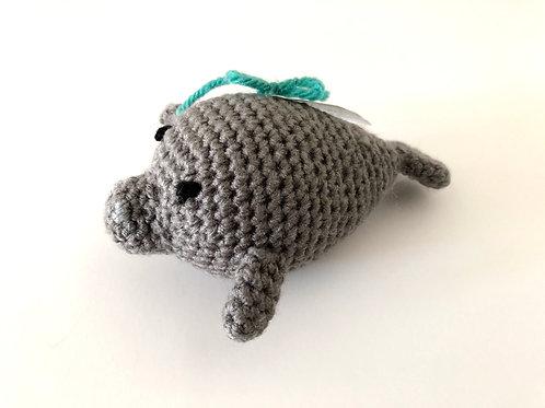 Crochet Manatee Plush by The Little Manatee