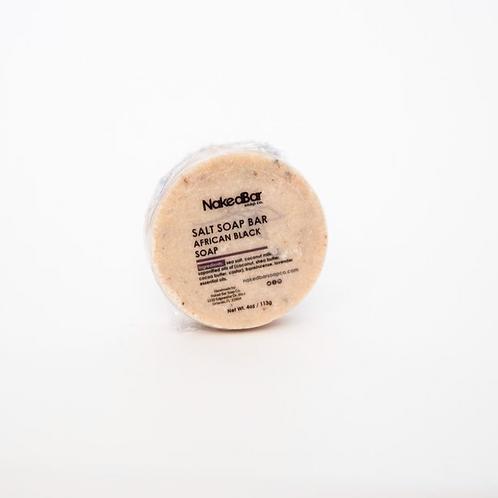 African Black Salt Soap by Naked Bar Soap Co.