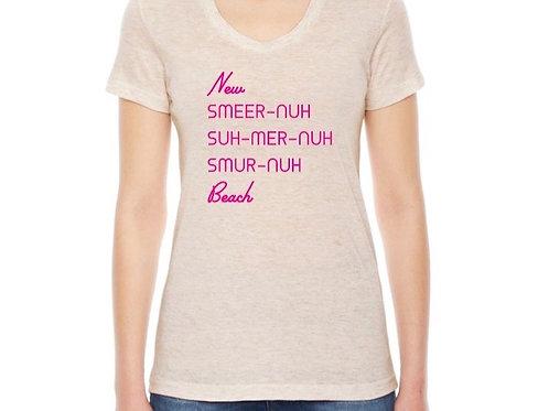 New Smyrna Beach Vernacular Women's T-Shirt Oatmeal