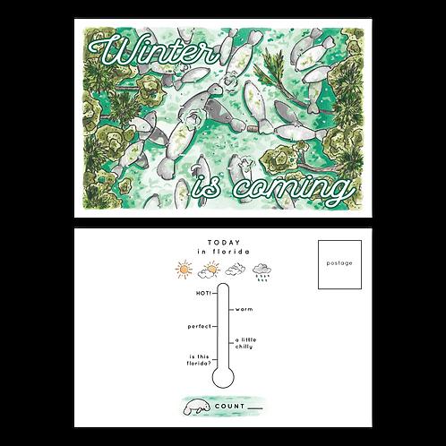 copy of New Smyrna Beach Aerial Postcard by Jelly Press