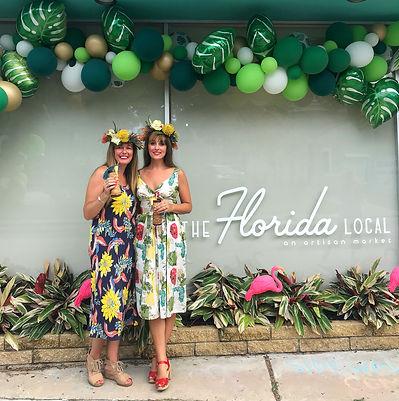 Alonda McCarty and Chelsea Presto of The Florida Local