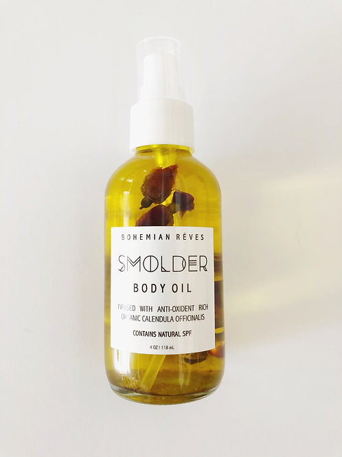 Smolder Calendula Infused Body Oil by Bohemian Reves