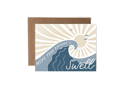 Swell Birthday Notecard by HeartSwell