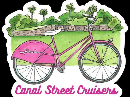 Canal Street Cruisers Sticker