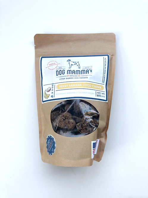 Berry Banana Coco Chunk Oven Baked Treats by Dog Mama's