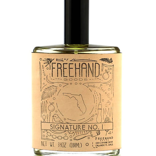 Signature No. 1 Spray Cologne by Freehand Goods