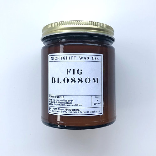 Fig Blossom Soy Candle by Nightshift Wax Co.