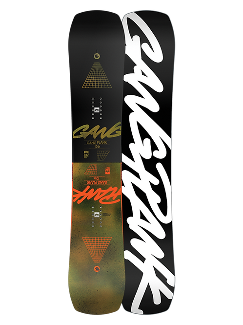 ROME GANG PLANK 2021 Snowboard 157 WIDE