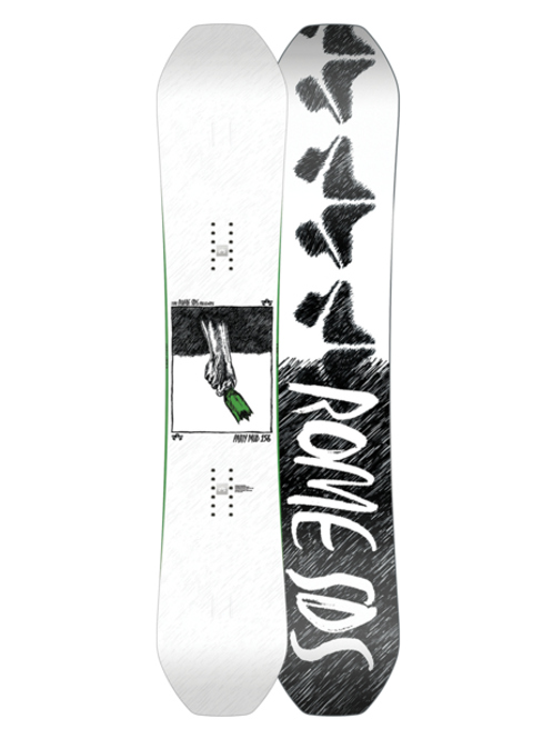ROME PARTY MOD 2021 Snowboard 157 WIDE