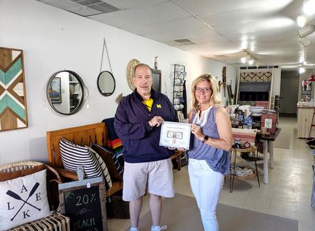 Camp & Coastal Design Co. Receives First Dollar