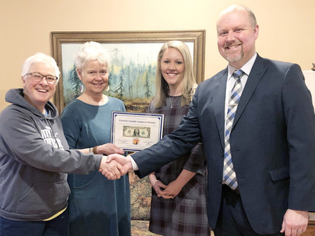 Fausett Family Funeral Homes Receives First Dollar