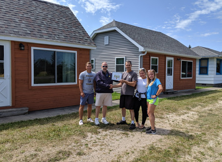 Cousino's Cabins receives First Dollar Certificate