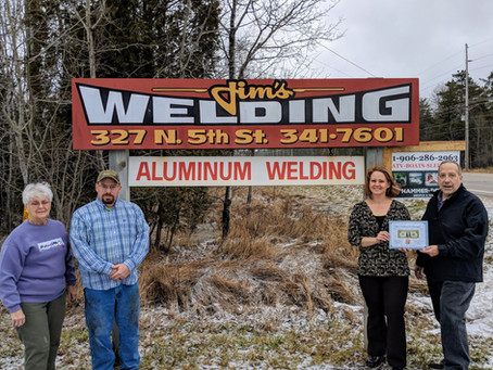 Jim's Welding Under New Ownership, Gets First Dollar
