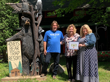 Hovey's Bear Trap Receives First Dollar