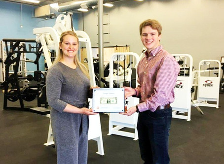 Yooper Fitness recognized with 'First Dollar' after delayed start