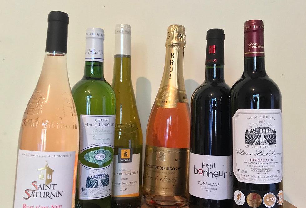 The Fine Wine Importers mixed wine box