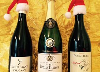 Christmas Wine tasting at Café du Jardin on Friday 24 November 2017 at 7:30 PM