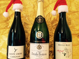 Christmas Wine tasting at Café du Jardin on Friday 24 November 2017 at 7:30 PM