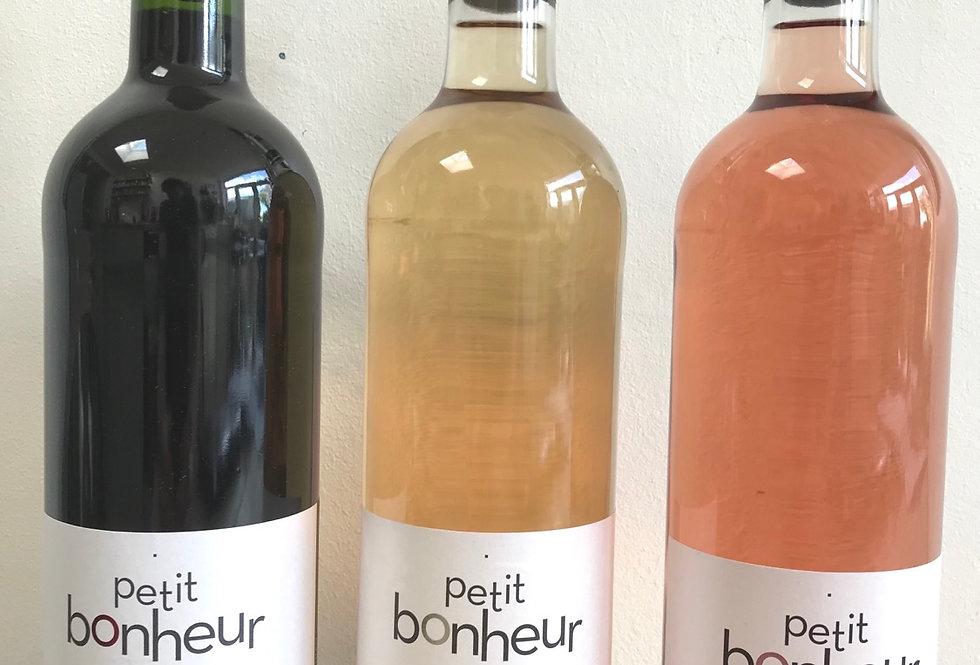 The Petit Bonheur tasting case