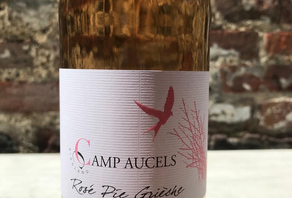 Rose Pie Grieche, Domaine Camp Aucels, IGP Herault, 2018