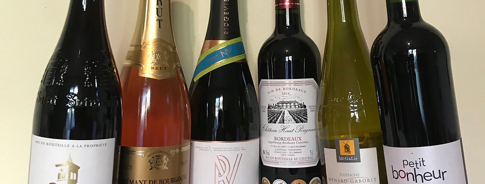 The Fine Wine Importers Gift Box - Pink Cremant