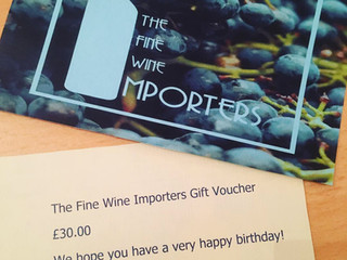 Gift Vouchers for Christmas & Birthdays.