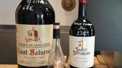 Saint Saturnin Vin d'Une Nuit 2014 Languedoc