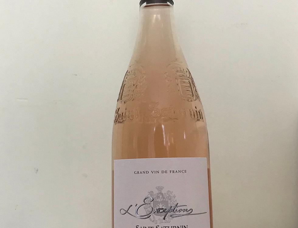Saint Saturnin, L'Exception 2018 Rosé, AOP Languedoc Saint Saturnin