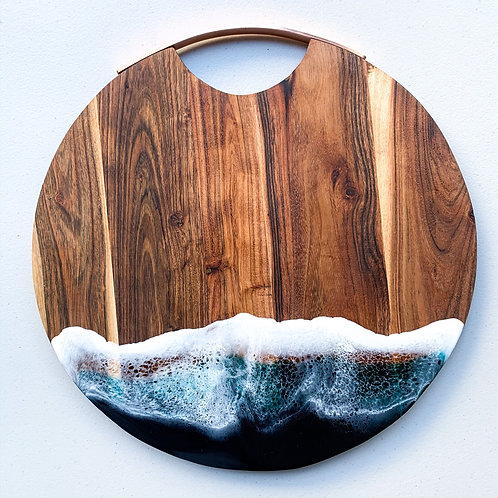 Large Round Serving Board