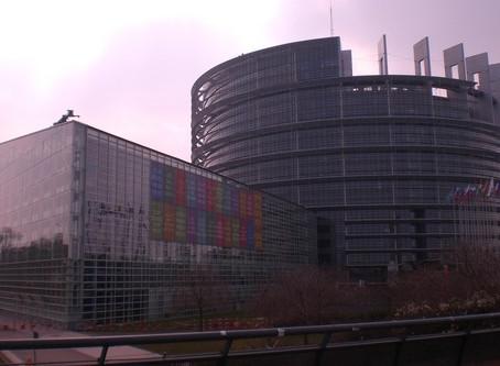 Strasbourg – politics, the Pope and Flammkuchen