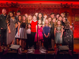 BROADWAY BOUND KIDZ WORLD OF BROADWAY AT FEINSTEIN'S/54 BELOW  MONDAY FEBRUARY 26, 2018