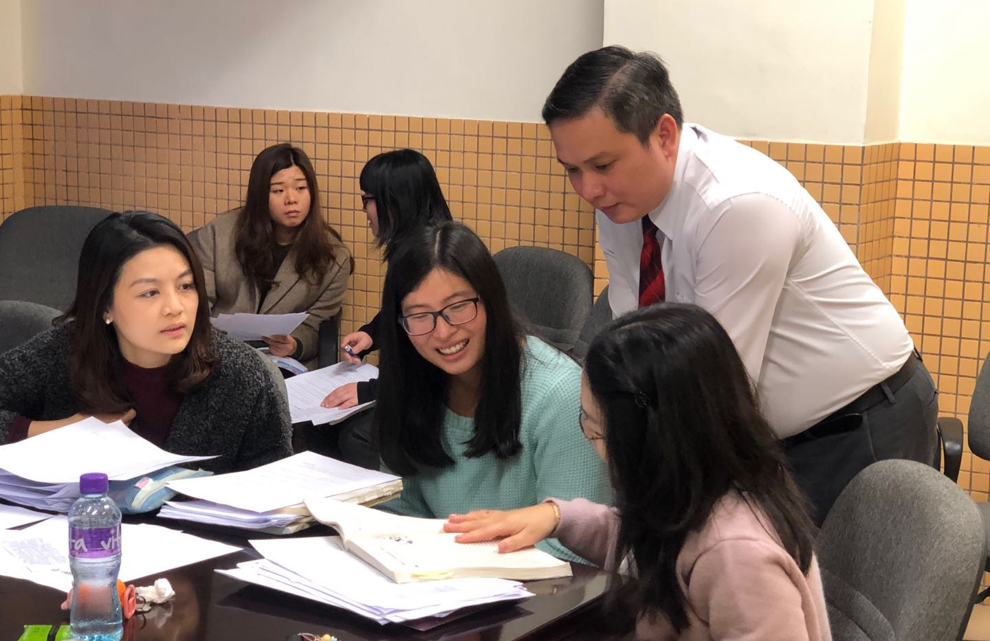 Teacher training at a Macau local school