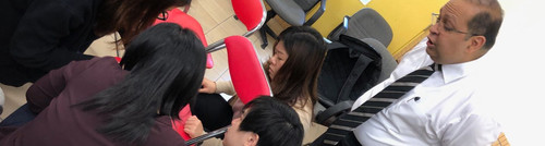 Teacher training at a Macau local school