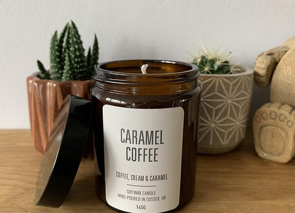 CARAMEL COFFEE SOY WAX CANDLE