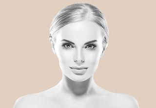 skin & beauty woman looking forward