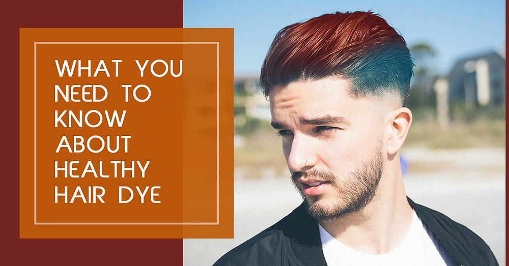 Healthy hair Dye for skin