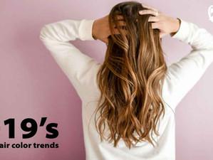 2019's coolest hair color trends